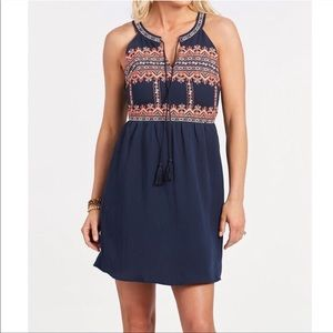 Evereve Maddie Embroidered Dress NWT XS